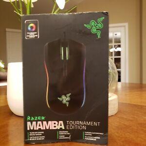 Razer Mamba Tournament Edition Chroma Ergonomic Gaming Mouse RZ01-01370100- R3U1