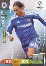 FERNANDO TORRES ESPANA CHELSEA.FC CARD ADRENALYN CHAMPIONS LEAGUE 2012 PANINI
