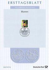 BRD 2015: Bienen-Ragwurz! Ersttagsblatt Nr. 3191 mit Bonner Sonderstempel! 1603