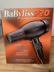 Babyliss Pro Professional Hair Dryer 2000 Watt High Heat 2800 Ceramic Porcelain
