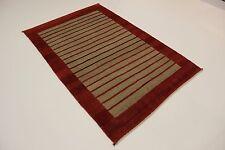 Nomaden Rizbaf Gabbe fein Perser Teppich Orientteppich 2,47 X 1,64