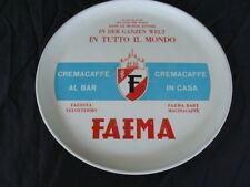 VASSOIO FAEMA VELOXTERMO FEMINA MILANO MACCHINA CAFFE' ESPRESSO OLD BAR EPOCA
