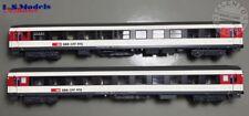 L.S. Models 47275 set 2 carrozze passeggeri SBB UIC-X Bpm RIC