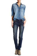 KUT from the Kloth Sammie Straight Leg Jeans - Blue KP5560MA6R - Size 2 x 30
