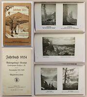Jahrbuch 1924 Riesengebirgs-Verein Landesgruppe Sachsen m. Mitgliederverzeichnis