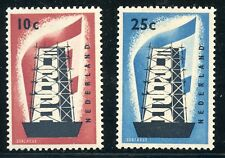 TIMBRE / NEUF CHARNIERE / PAYS-BAS / NEDERLAND EUROPA N° 659/660 * COTE ++ 75 €