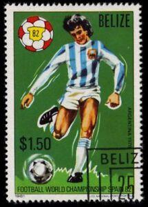 BELIZE 605 (SG668) - ESPANA '82 World Cup Football Championships (pa54959)