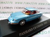 M Voiture 1/43 IXO altaya Voitures d'autrefois : PANHARD CD coach 1962
