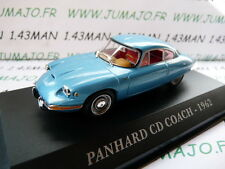 Voiture 1/43 IXO altaya Voitures d'autrefois : PANHARD CD coach 1962