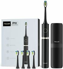 Fairywill P11 Plus Whitening Sonic Toothbrush 62,000 Vibration with Travel Case