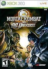 Mortal Kombat VS DC UNIVERSE XBOX 360! BATMAN, SUPERMAN CLASSIC FIGHT GAME NIGHT