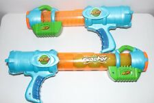 OLD COLLECTABLE NERF BALL BLASTER GUN | REACTOR | COMPLETE | SPRING LOADED