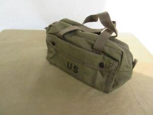 US Army Tool Bag Cargo Bag Canvas Kampftasche Navy USMC Marines Car Half Truck