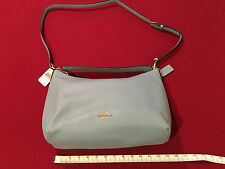 NWT Coach Pebbled Leather Celeste Conv Hobo Handbag in Bluejay F 36628