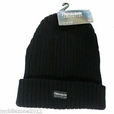UNIVERSAL Thinsulate Chunky Beanie Hat Thermal Ski 3M Warm - UZ23