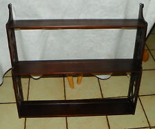Solid Mahogany Plate Rack / Shelf (Rp-Sh70)