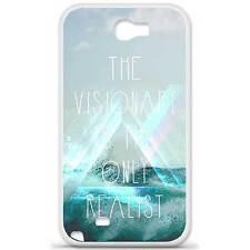 Coque housse étui tpu gel motif visionary Samsung Galaxy Note 2 N7100