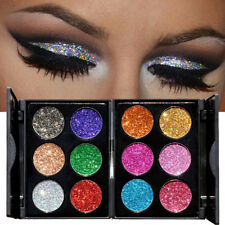 Women Shimmer Glitter Eye Shadow Powder Palette Matte Eyeshadow Cosmetic Supply