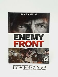 ENEMY FRONT PlayStation 3 ps3 Game Manual | Excellent Condition