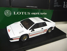 1:18 Autoart Lotus Esprit Turbo blanco white 007 for Your Eyes Only nuevo New
