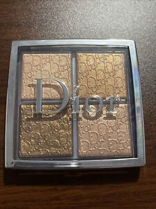 Dior Backstage Glow Face Palette Highlight & Blush 005 Copper Gold New In Box