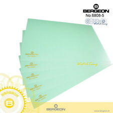 1 x Bergeon 6808 Work Pad Bench Top Mat Plastic Sheets with Adhesive Backing