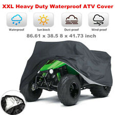XXL ATV UTV Cover fit for Polaris Honda Yamaha Can-Am Suzuki Waterproof Anti-UV