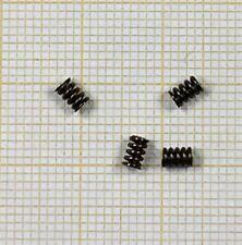 4 x Druckfeder, Länge 3,8mm, Außen Ø2,5mm, Drahtstärke 0,5mm