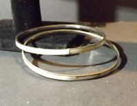 Pair of Thin Bangle Bracelets