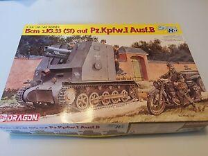 Dragon 1/35 15cm s.IG.33(Sf) auf Pz.Kpfw.I Ausf.B German WWII Tank kit #6259