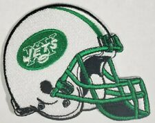 New York Jets~Helmet~Iron On Embroidered Patch~Free Shipping from the U.S.A.~