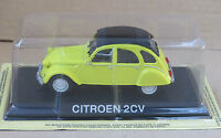 "DIE CAST "" CITROEN 2CV "" LEGENDARY CARS SCALA 1/43"