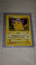 Pikachu 87/130 Pokemon Card (New) - Yellow Cheek
