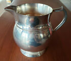 Sterling Silver Water Pitcher by Reproduction - 4 1/2 Pints - 687 grams