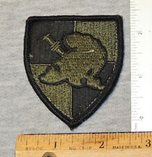 West Point Cadet Shoulder Insignia for BDU, Dark Khaki and Black
