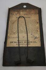1900's Vintage McCaskey Register Company Wall Mount Bill Holder