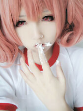Inu x Boku SS Secret Service: Roromiya Karuta Cosplay Pink Wig Hair J-Anime NEW