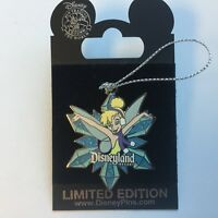 DLR - Tinker Bell Snowflake Surprise Pin Limited Edition 750 Disney Pin 74614