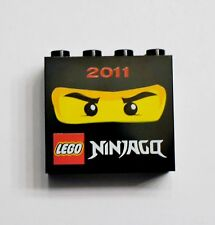 LEGO Ninjago 2011 Collector's Brick - Black - NEW! ( 2 x 4 Studs) Hard to find