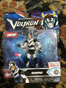 Dreamworks Voltron SHIRO Basic Action Figure Legendary Defender NEW