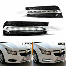 White LED Driving DRL Fog Light Daytime Running Light Lamp For 11-14 Chevy Cruze