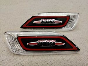 NEW MINI JCW CLUBMAN JOHN COOPER S ALL4 F54 Front Right Left Pair Side Marker