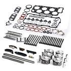 Engine Rebuilding Overhaul Pistons Timing Chain Kit For Porsche Vw Audi 3.6l Vr6