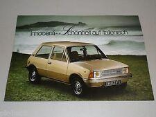 Pubblicità AUTO prospetto Leyland Innocenti 90 L 120 L, stand 02/1979