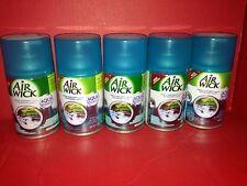 5 Air Wick Freshmatic automatic ultra spray Refill Fresh Waters