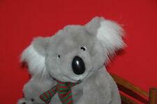 "Koala Bear Gun Fashion Bug Christmas Plush Wild Animal Grey 14"" Boys & Girls 3+"