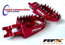 HONDA CRF250 CRF450 MOTOCROSS RFX RED ALLOY PRO-SERIES 2013 - 2016