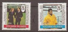 PITCAIRN ISLANDS SG290/1 1986 ROYAL WEDDING MNH