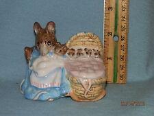 Royal Doulton / Albert Beatrix Potter Porcelain Figurine Hunca Munca