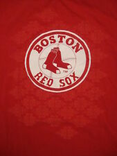 MLB Boston Red Sox Baseball red T Shirt Sz L